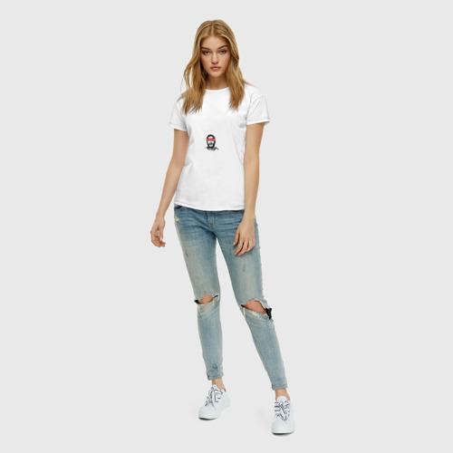 Женская футболка хлопок Скриптонит Фото 01