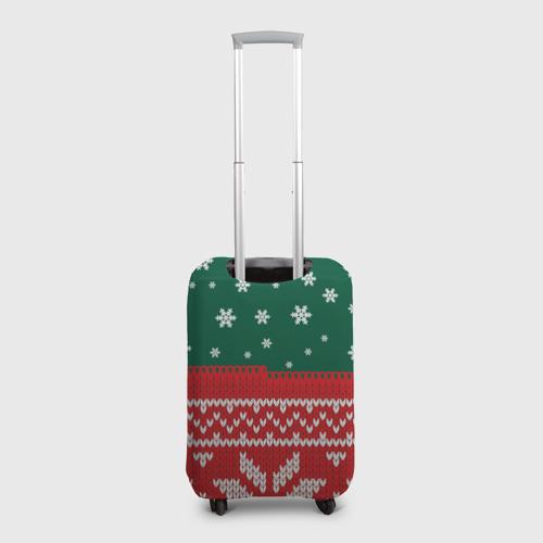 Чехол для чемодана 3D  Фото 02, Новогодний Богдан