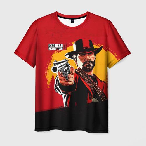 Мужская футболка 3D  Фото 03, Red Dead Redemption 2