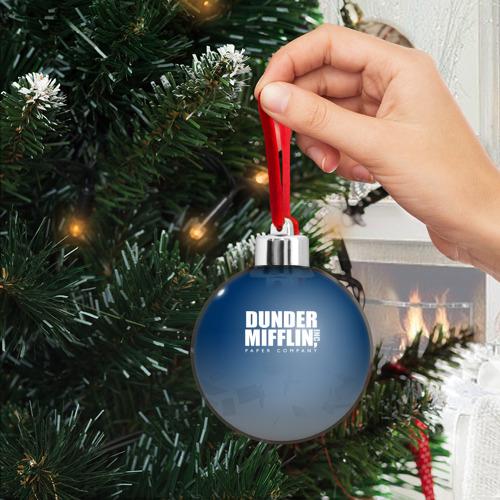 Ёлочный шар The Office: Dunder Mifflin Фото 01