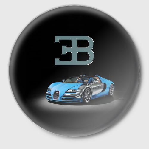 "1e097da8 Значок ""Bugatti"" - купить в интернет-магазине, артикул принта: 1647543"