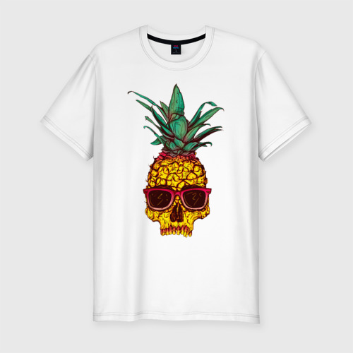 Мужская футболка премиум Череп - анонс