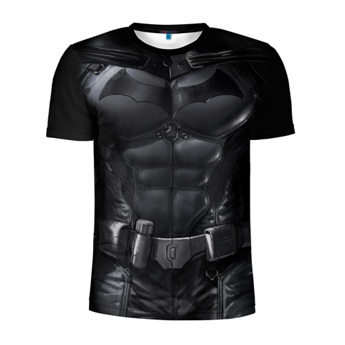 Мужская футболка 3D спортивная Костюм Бэтмена