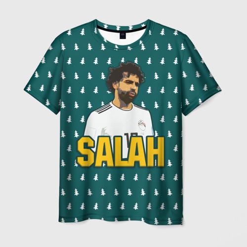 Мужская футболка 3D Salah