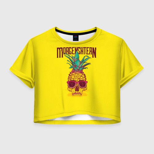Женская футболка Cropp-top Morgenshtern