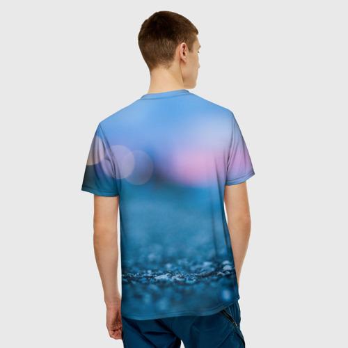 Мужская футболка 3D  Фото 02, PUBG light blue