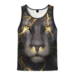 Лев с молнией