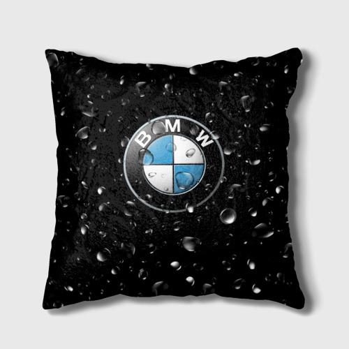 Подушка 3D BMW под Дождём Фото 01