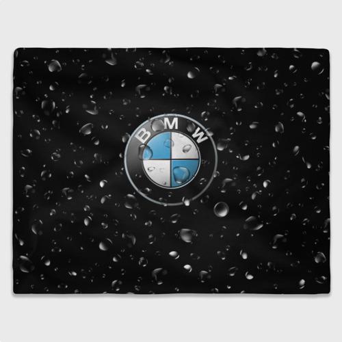 Плед 3D  Фото 03, BMW под Дождём