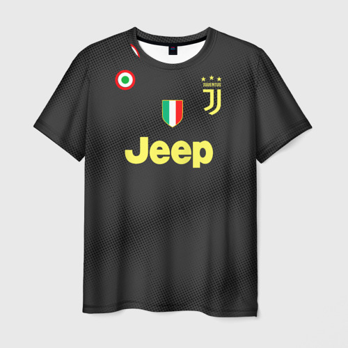 Мужская футболка 3D  Фото 01, Dybala 18-19 alternative
