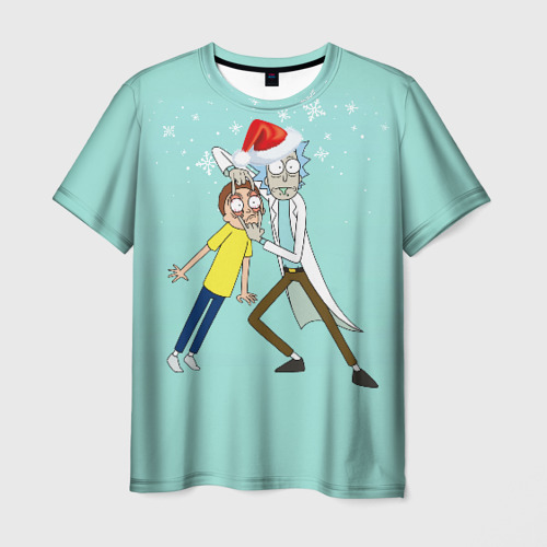 Мужская футболка 3D  Фото 01, Рик и Морти