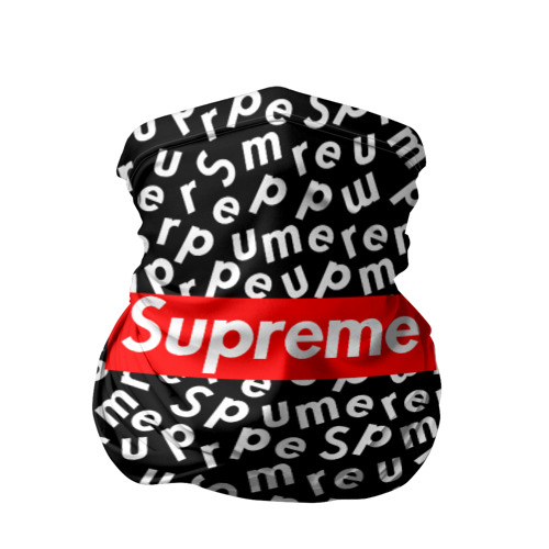 SUPREME PATTERN BLACK