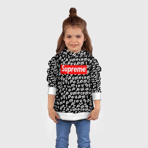 SUPREME PATTERN BLACK