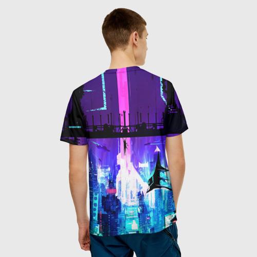 Мужская футболка 3D  Фото 02, CYBERPUNK