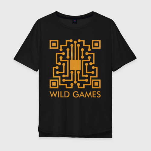 Мужская футболка хлопок Oversize Wild Games Фото 01