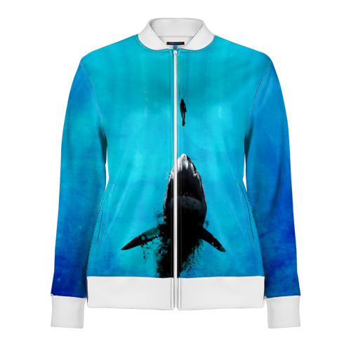 Акула на охоте