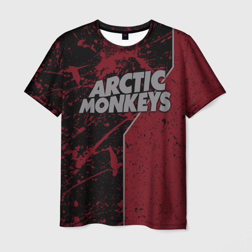 Мужская футболка 3D Arctic Monkeys Фото 01