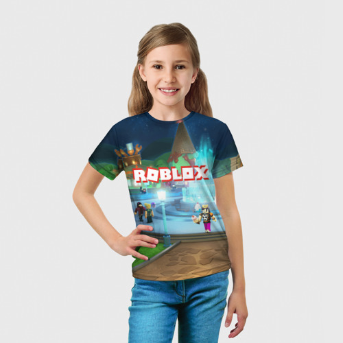 Детская футболка 3D  Фото 03, ROBLOX
