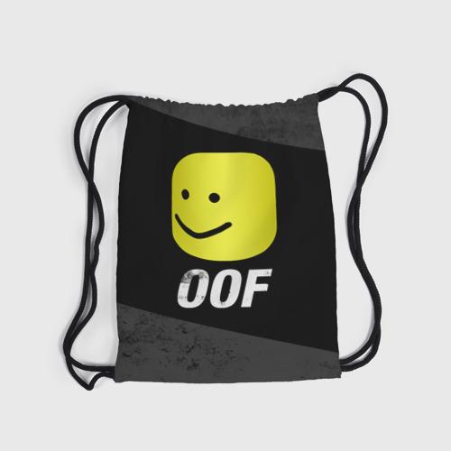 Roblox OOF Мем (3d рюкзак-мешок) фото 3