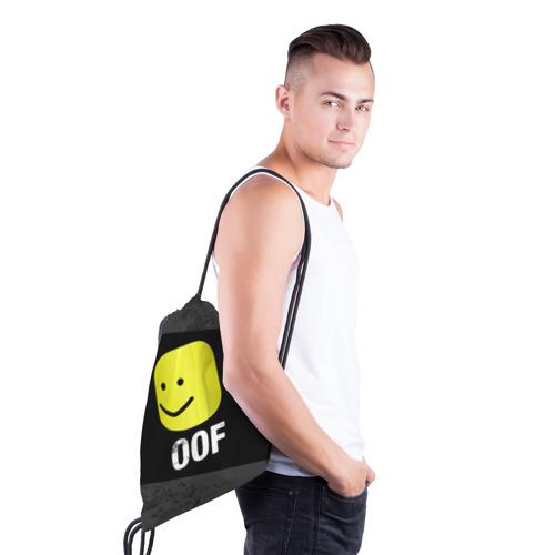 Roblox OOF Мем (3d рюкзак-мешок) фото 2
