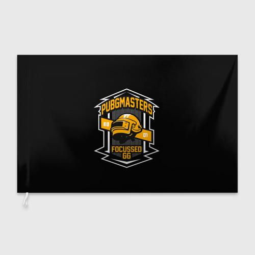 Флаг 3D PUBG MASTERS Фото 01