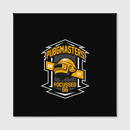 Холст квадратный PUBG MASTERS Фото 01