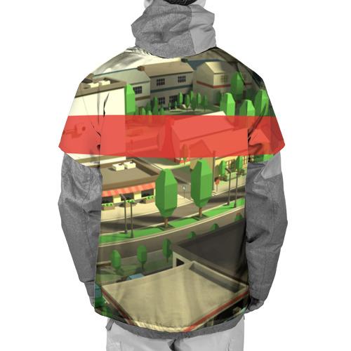 Накидка на куртку 3D  Фото 02, ROBLOX City