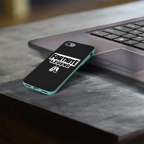 Чехол для Apple iPhone 8 силиконовый глянцевый FORTNITE LEGEND Фото 01