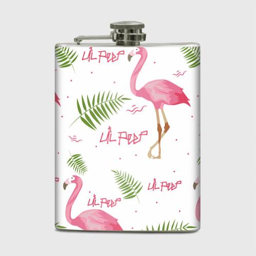 Lil Peep pink flamingo