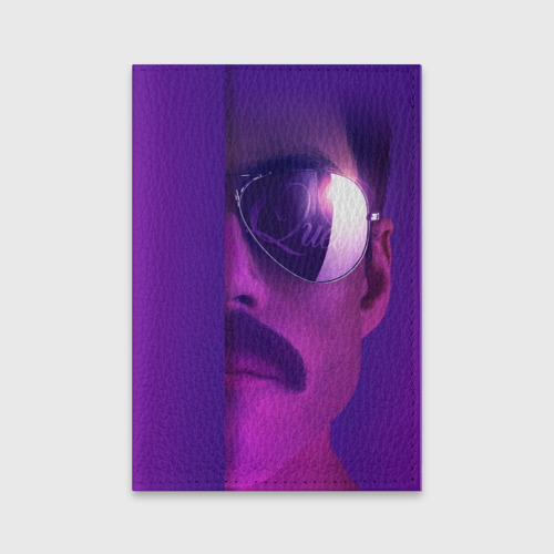 Обложка для паспорта матовая кожа Bohemian Rhapsody Фото 01