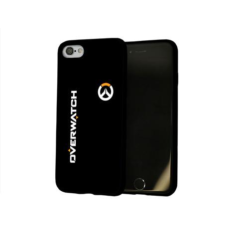 Чехол для Apple iPhone 8 силиконовый глянцевый OVWERWATCH Фото 01
