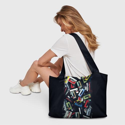 Пляжная сумка 3D 90-е Фото 01