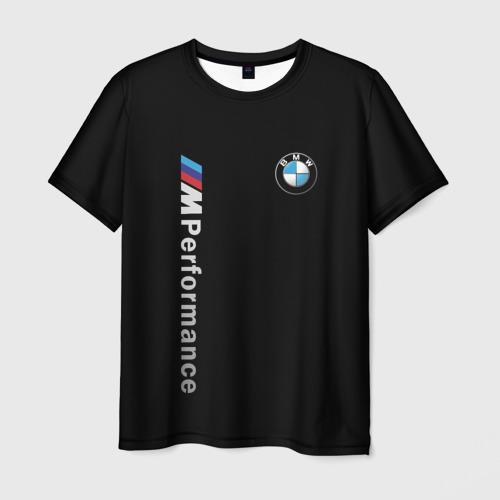 Мужская футболка 3D BMW PERFORMANCE | БМВ Фото 01
