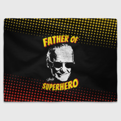 Плед Stan Lee: Father of Superhero