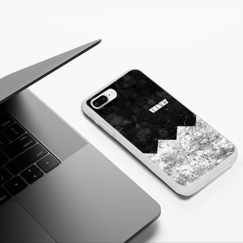 Чехол для iPhone 7Plus/8 Plus матовый BONES: SESH Team Фото 01