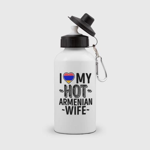 Бутылка спортивная Люблю мою армянскую жену
