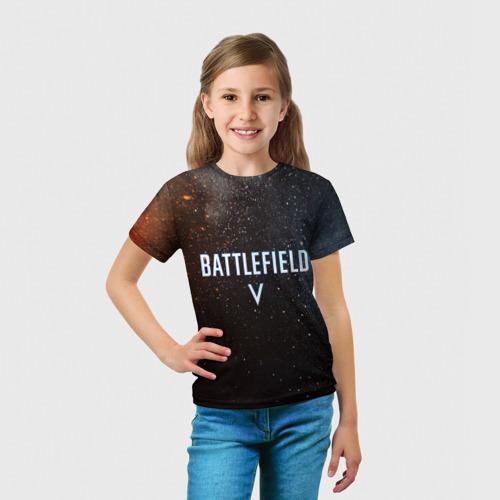 Детская футболка 3D  Фото 03, Battlefield 5