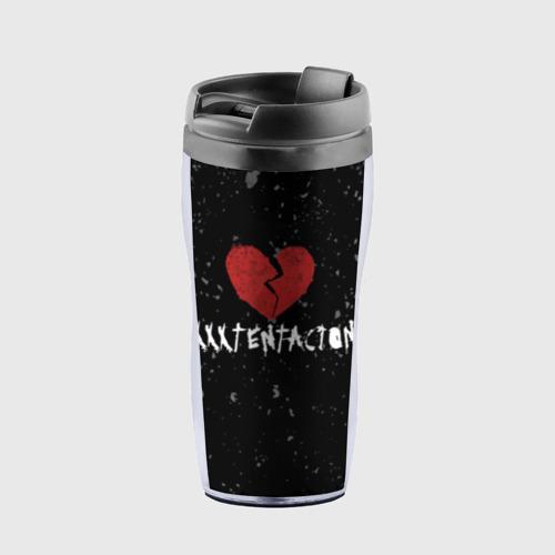 Термокружка-непроливайка XXXTentacion Red Broken Heart