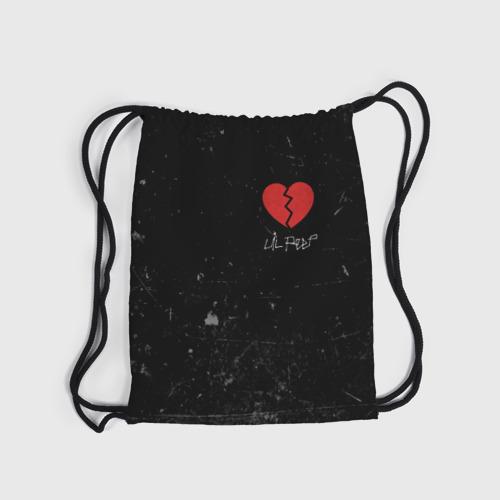 Рюкзак-мешок 3D Lil Peep Broken Heart Фото 01