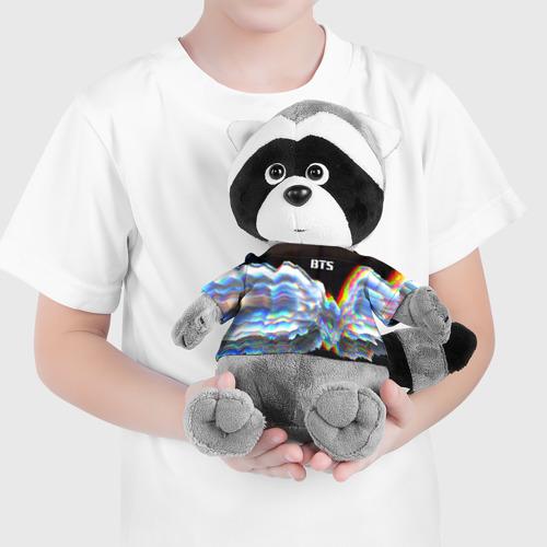 Енотик в футболке 3D BTS Фото 01