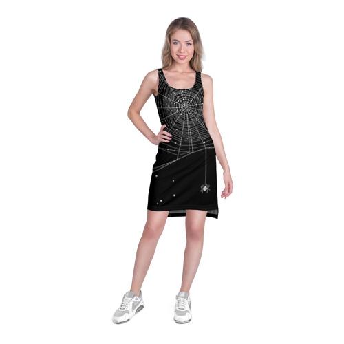 Платье-майка 3D Паутина Фото 01