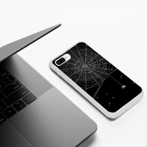 Чехол для iPhone 7Plus/8 Plus матовый Паутина Фото 01