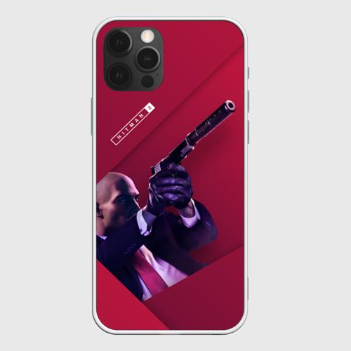 Чехол для iPhone 12 Pro Max HITMAN 2 c Пистолетом Фото 01