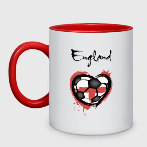 Кружка двухцветная Англия