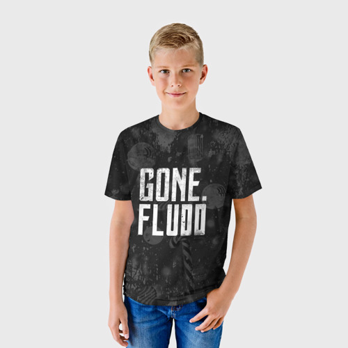 Детская футболка 3D GONE.Fludd Dark