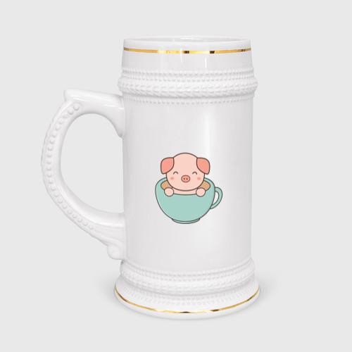 Кружка пивная Cup of Pig