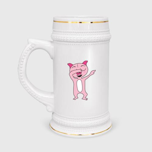 Кружка пивная DAB Pig