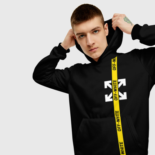 OFF-WHITE Cross and Stripe