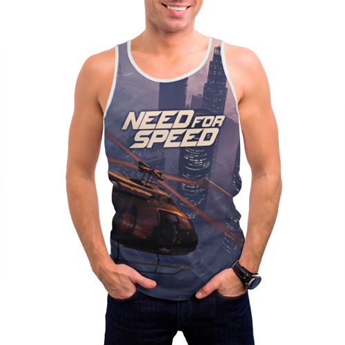 Мужская майка 3D  Фото 03, Need for Speed
