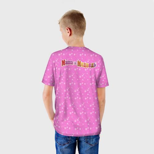 Детская футболка 3D  Фото 02, Мишка новогодний